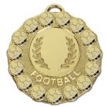 Football Medal 50mm AM1076